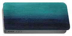 Serenity- Abstract Landscape Portable Battery Charger