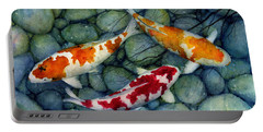 Koi Fish Pond Portable Battery Chargers