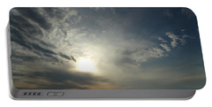 Serenity Sunset Portable Battery Charger by Joseph Baril