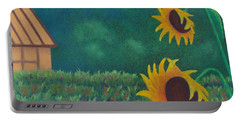 Sergi's Sunflowers Portable Battery Charger