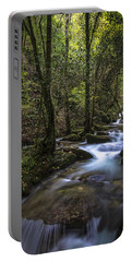 Portable Battery Charger featuring the photograph Sesin Stream Near Caaveiro by Pablo Avanzini
