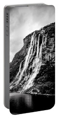 Seven Sisters Waterfall Portable Battery Charger