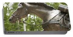 Sgt Reckless Portable Battery Charger by Carol Lynn Coronios