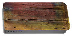 Shades Of Red And Yellow Portable Battery Charger by Ron Harpham