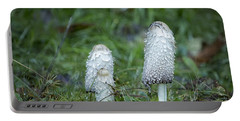 Shaggy Cap Mushroom No. 3 Portable Battery Charger