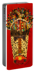 Shaka Zulu Portable Battery Charger by Apanaki Temitayo M