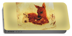 Portable Battery Charger featuring the painting Sharing Secrets by Hazel Holland