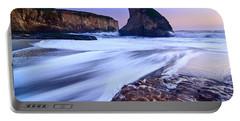 Shark Fin Tide - Santa Cruz California Portable Battery Charger