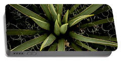 Portable Battery Charger featuring the photograph Sharp Points - Yucca Plant by Steven Milner