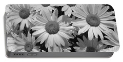 Portable Battery Charger featuring the photograph Shasta Daisy  by Janice Westerberg