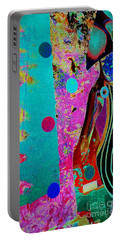 She Waits By The Window Portable Battery Charger by Jacqueline McReynolds