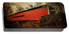 Sheeder Hall Covered Bridge 2 Portable Battery Charger