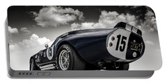 Shelby Daytona Portable Battery Charger by Douglas Pittman