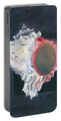 Shell In Opaque Sea Portable Battery Charger