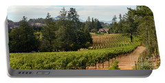 Sherwin Family Vineyards Portable Battery Charger