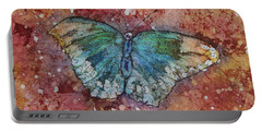 Shimmer Wings Portable Battery Charger by Ruth Kamenev