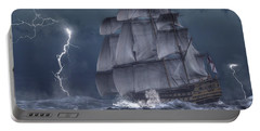 Ship In A Storm Portable Battery Charger