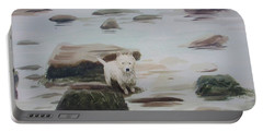Shirley's Dog Portable Battery Charger by Martin Howard
