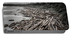 Shoved Ashore Driftwood  Portable Battery Charger