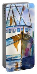 Shrimp Boat Isra Portable Battery Charger