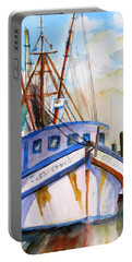 Shrimp Fishing Boat Portable Battery Charger