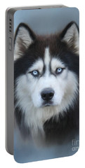 Siberian Husky Portable Battery Charger