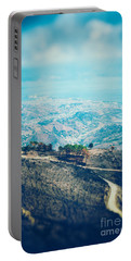 Portable Battery Charger featuring the photograph Sicilian Land After Fire by Silvia Ganora