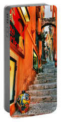 Sicilian Steps Portable Battery Charger