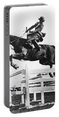 Sidesaddle Jumps At Horse Show Portable Battery Charger