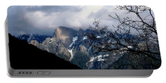 Portable Battery Charger featuring the photograph Sierra Nevada Snowy View by Matt Harang