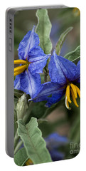 Portable Battery Charger featuring the photograph Silver Leaf Blooms by Mae Wertz