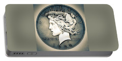 1922 Silver Proof Peace Dollar Portable Battery Charger