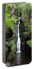 Portable Battery Charger featuring the photograph Silver Thread Falls by Trina  Ansel