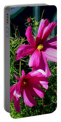 Simple Flowers1 Portable Battery Charger