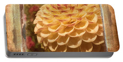 Simply Moments - Flower Art Portable Battery Charger by Jordan Blackstone