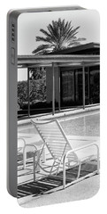 Sinatra Pool Bw Palm Springs Portable Battery Charger