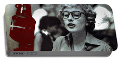 Singer Pianist Blossom Dearie  No Known Date Portable Battery Charger