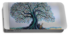 Singing Under The Blues Tree Portable Battery Charger