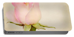 Single Baby Pink Rose Portable Battery Charger