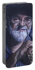 Sir Terry Pratchett Portable Battery Charger