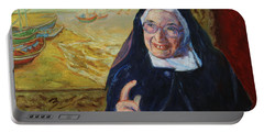 Sister Wendy Portable Battery Charger