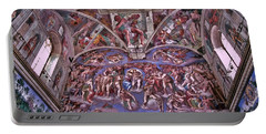 Portable Battery Charger featuring the photograph Sistine Chapel by Allen Beatty