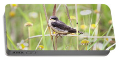 Portable Battery Charger featuring the photograph Sitin' Pretty by Elizabeth Winter