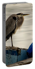 Sittin' On The Dock Of The Bay Portable Battery Charger