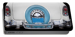 Sittin Pretty 1956 Chevrolet Convertible Portable Battery Charger
