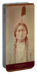 Sitting Bull, Sioux Chief, C.1885 Bw Photo Portable Battery Charger