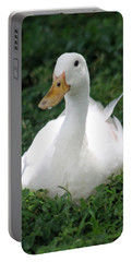 Sitting Duck Portable Battery Charger by Pamela Walton