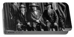 Six Famous Frontiersmen Portable Battery Charger
