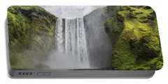 Skogarfoss Waterfall Portable Battery Charger