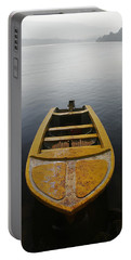 Portable Battery Charger featuring the photograph Skc 0042 Calmness Anchored by Sunil Kapadia